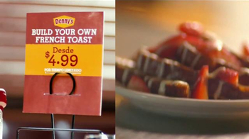 Denny's Build Your Own French Toast TV Spot [Spanish] - Thumbnail 7