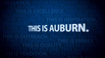 Auburn University TV Spot, 'Auburn University Television Commerical' - Thumbnail 10
