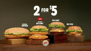 Burger King Chicken Big King TV Spot, '2 for $5: Chicken Out' - Thumbnail 10