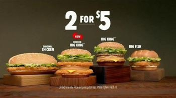 Burger King Chicken Big King TV Spot, '2 for $5: Chicken Out' - Thumbnail 9