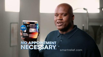 Icy Hot Smart Relief TV Spot, \'Turn Off Pain\' Featuring Shaquille O\'Neal