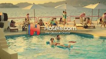 Hotels.com TV Spot, 'Swim Shorts' - 332 commercial airings