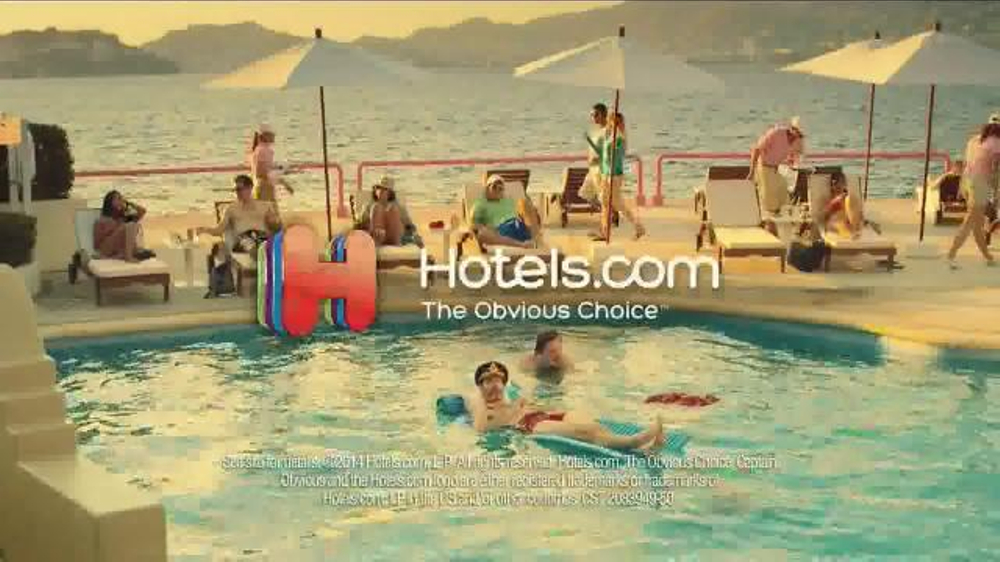 Hotels.com TV Commercial, 'Swim Shorts'