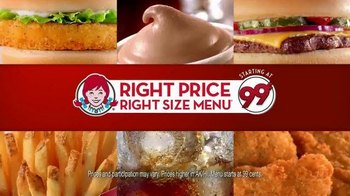 Wendy's Right Price Right Size Menu TV Spot, 'Get What You Pay For' - Thumbnail 8