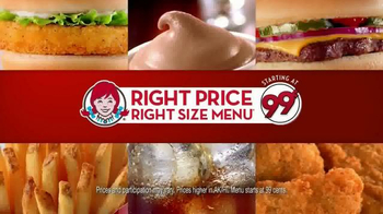 Wendy's Right Price Right Size Menu TV Spot, 'Get What You Pay For' - Thumbnail 9