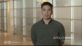 USA Characters Unite TV Spot, 'Bullying' Featuring Apolo Ohno