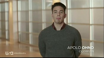 USA Characters Unite TV Spot, 'Bullying' Featuring Apolo Ohno - Thumbnail 2