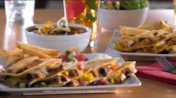 Chili's Lunch Combos TV Spot,'Santa Fe Chicken Quesadilla' - Thumbnail 8