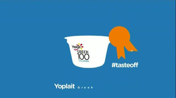 Yoplait 100 Calorie Strawberry Greek Yogurt TV Spot, 'Taste-Off' - Thumbnail 9