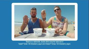 Yoplait 100 Calorie Strawberry Greek Yogurt TV Spot, 'Taste-Off' - Thumbnail 3