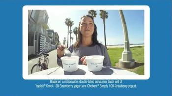 Yoplait 100 Calorie Strawberry Greek Yogurt TV Spot, 'Taste-Off' - Thumbnail 4