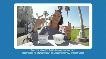 Yoplait 100 Calorie Strawberry Greek Yogurt TV Spot, 'Taste-Off' - Thumbnail 5