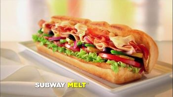 Subway TV Spot, 'Ode to Subway Melt' - 712 commercial airings