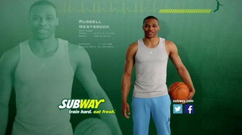 Subway TV Spot, 'Avocado Season' Featuring Russell Westbrook, Mike Trout - 1114 commercial airings