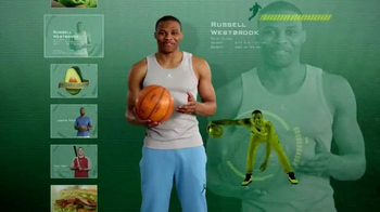 Subway TV Spot, 'Avocado Season' Featuring Russell Westbrook, Mike Trout - Thumbnail 2