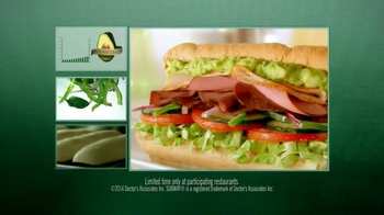 Subway TV Spot, 'Avocado Season' Featuring Russell Westbrook, Mike Trout - Thumbnail 6