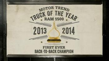 2014 Ram 1500 Trucks TV Spot, 'Crushes Numbers' - Thumbnail 6