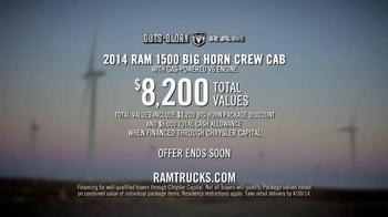 2014 Ram 1500 Trucks TV Spot, 'Crushes Numbers' - Thumbnail 8