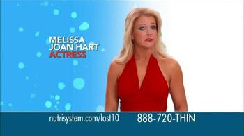 Nutrisystem Fast 5 TV Spot Featuring Melissa Joan Hart - Thumbnail 2