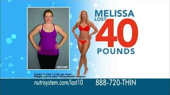Nutrisystem Fast 5 TV Spot Featuring Melissa Joan Hart - Thumbnail 3