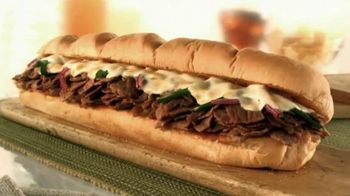 Subway TV Spot, 'Ode to the Big Philly Cheesesteak' - 1083 commercial airings