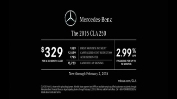 2015 Mercedes-Benz CLA 250 TV Spot, 'Record Breaking Race Car' - Thumbnail 10