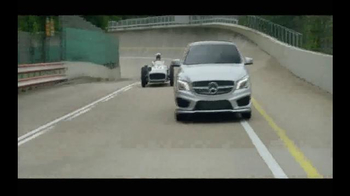 2015 Mercedes-Benz CLA 250 TV Spot, 'Record Breaking Race Car' - Thumbnail 8