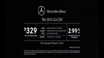2015 Mercedes-Benz CLA 250 TV Spot, 'Record Breaking Race Car' - Thumbnail 9