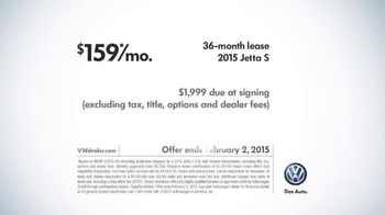 2015 Volkswagen Jetta TV Spot, 'Both Fun to Drive' - Thumbnail 9