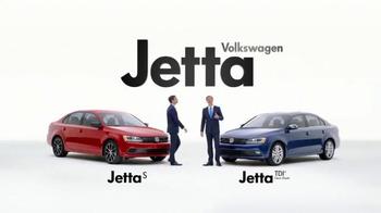 2015 Volkswagen Jetta TV Spot, 'Both Fun to Drive' - Thumbnail 2