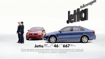 2015 Volkswagen Jetta TV Spot, 'Both Fun to Drive' - Thumbnail 7