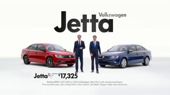 2015 Volkswagen Jetta TV Spot, 'Both Fun to Drive' - 142 commercial airings