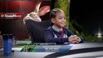 Mercedes-Benz Super Bowl 2015 Teaser TV Spot, 'Big Race Andrew Hunt'