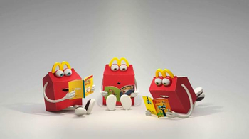 McDonald's Harper Collins TV Spot, 'Feed Your Imagination' - Thumbnail 1