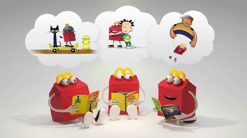 McDonald's Harper Collins TV Spot, 'Feed Your Imagination' - Thumbnail 8