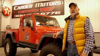 Carder Motors TV Spot, 'Wide Variety of Vehicles'