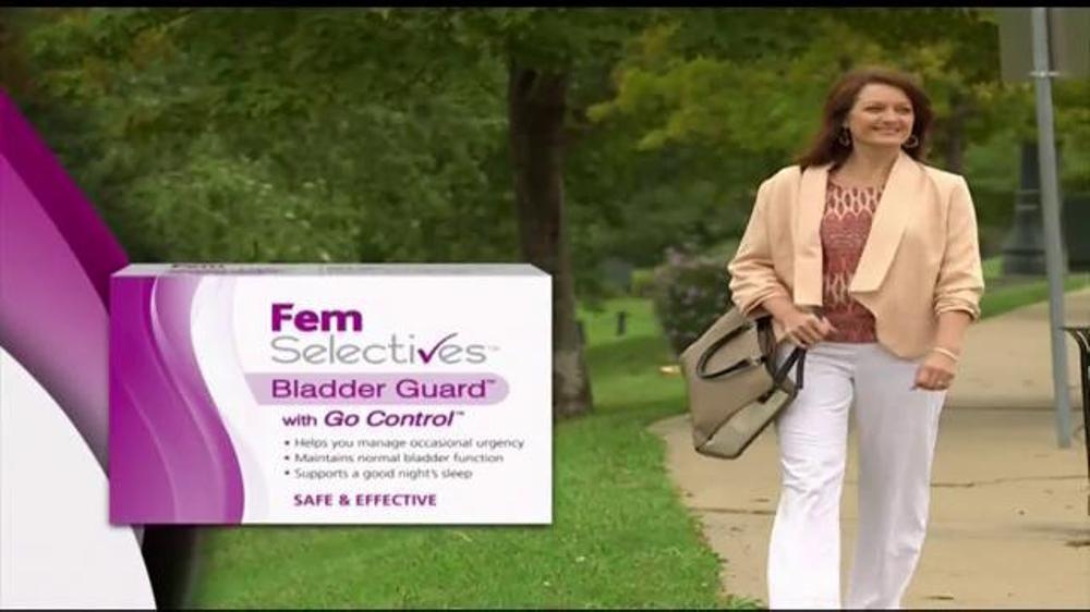 Fem Selectives Bladder Guard TV Commercial, 'Bladder Control'