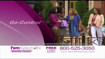 Fem Selectives Bladder Guard TV Spot, 'Bladder Control' - Thumbnail 5