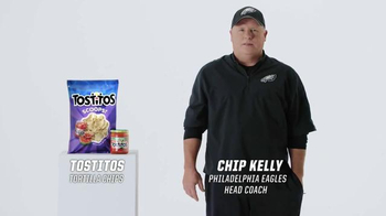 Tostitos TV Spot, 'Official Chip of the NFL' Featuring Chip Kelly