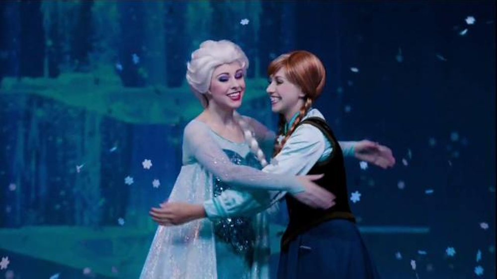 Disneyland Frozen Fun Tv Commercial, For The First Time -4050