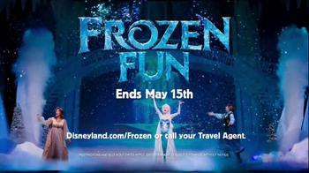 Disneyland Frozen Fun TV Spot, 'For the First Time in Forever' - Thumbnail 8