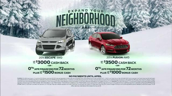 Ford Fusion & Escape TV Spot, 'Expand Your Neighborhood' - Thumbnail 10
