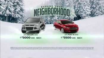 Ford Fusion & Escape TV Spot, 'Expand Your Neighborhood' - Thumbnail 8
