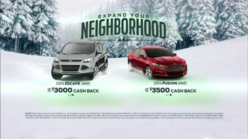 Ford Fusion & Escape TV Spot, 'Expand Your Neighborhood' - Thumbnail 9
