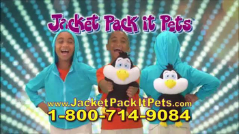 Jacket Pack it Pets TV Spot