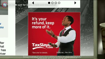 TaxSlayer.com TV Spot, 'Bigger Than IRS Refund' Feat. Dale Earnhardt Jr. - Thumbnail 5