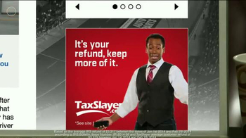 TaxSlayer.com TV Spot, 'Bigger Than IRS Refund' Feat. Dale Earnhardt Jr. - Thumbnail 6