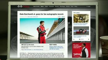 TaxSlayer.com TV Spot, 'Bigger Than IRS Refund' Feat. Dale Earnhardt Jr. - Thumbnail 7
