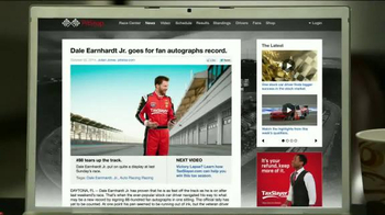 TaxSlayer.com TV Spot, 'Bigger Than IRS Refund' Feat. Dale Earnhardt Jr. - Thumbnail 8