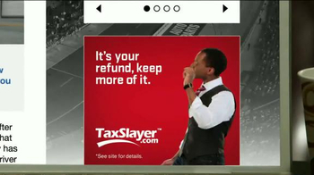 TaxSlayer.com TV Spot, 'Bigger Than IRS Refund' Feat. Dale Earnhardt Jr. - Thumbnail 9